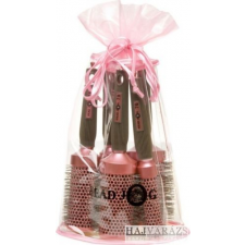 Head Jog 76-80 körkefe csomag pink fésű