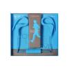 Headset, Vennus BT-1 sport bluetooth headset, sztereó, felvevőgombos, kék, 3,5 univerzális, bliszteres