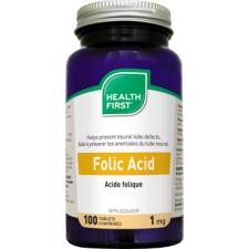 Health First folsav (Folic Acid) 1mg kapszula 100db táplálékkiegészítő