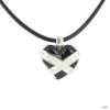 Heartbreaker szívbreaker by Drachenfels Női ezüst Anhänger Lánc LD HT 38