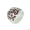 Heartbreaker szívbreaker by Drachenfels Női ezüst gyűrű marrakesh LD MA 13 58 (18.4 mm Ă?)