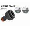 Hecht HECHT-08024 locsoló tömlővég csatlakozó 12 + 34