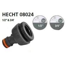 Hecht HECHT-08024 locsoló tömlővég csatlakozó 12 + 34 kerti szerszám