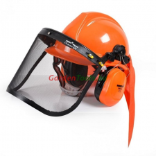 Hecht Hecht 900100 védősisak fülvédővel és rostéllyal védősisak
