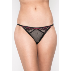 Heidi Klum Intimates - Tanga Heather Possess - fekete