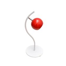 Helam Asztali lámpa MORRIS 1xE27/60W/230V piros világítás