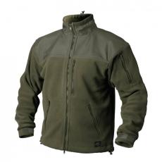 HELIKON-TEX Classic Army fleece megerősített bunda, olívzöld 300g/m2