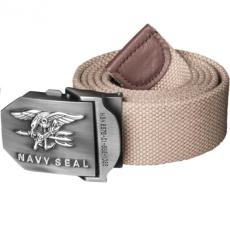 HELIKON-TEX Navy Seal öv fém csattal, khaki 4cm