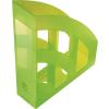 """HELIT Iratpapucs, műanyag, 75 mm, HELIT """"Economy"""", áttetsző zöld"""