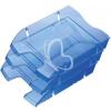 """HELIT Irattálca, műanyag, törhetetlen, HELIT """"Nestable Green Logic"""", áttetsző kék"""