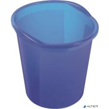 """HELIT Papírkosár, 13 liter, HELIT """"Economy"""", áttetsző kék szemetes"""