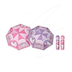 Hello Kitty összecsukható lila esernyő