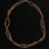 Hematit-napkő nyaklánc