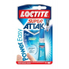 "HENKEL Pillanatragasztó gél, 3 g,  ""Loctite Super Attak Power Easy"""