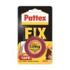 "HENKEL Ragasztószalag, kétoldalas, 19 mm x 1,5 m, HENKEL ""Pattex Fix 120 kg"",  piros"