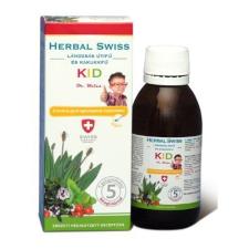 Herbal Herbal swiss gyermek köhögés elleni szirup 150 ml táplálékkiegészítő