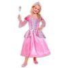 Hercegnő jelmez kiegészítőkkel - rózsaszín - 3-6 éves