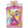 Hercegnők Disney Hercegnők, Princess ágynemű huzat 140×200cm, 70×90cm