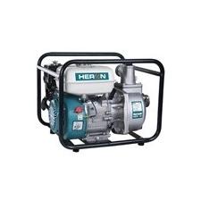 """Heron Heron benzinmotoros vízszivattyú 5,5 LE,max.600l/min, max.7m szívómélység,max.28m nyomómagasság, 50mm (2"""") csőátmérő (EPH-50) kerti szerszám"""