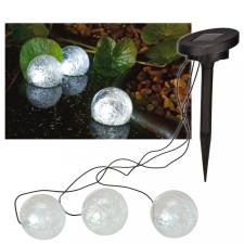 Hi napelemes LED-es úszó tólámpa 9 cm kültéri világítás