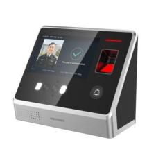 Hikvision DS-K1T605EF Arcfelismerő beléptető vezérlő terminál, EM kártyaolvasás, ujjnyomat olvasó biztonságtechnikai eszköz