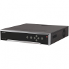 Hikvision NVR rögzítő - DS-7732NI-I4/24P (32 csatorna, 256Mbps, H265, HDMI+VGA, 3xUSB, 4x Sata, eSata, I/O, 24x PoE)