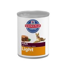 Hill's Canine Adult Light Chicken - konzerv 370g kutyaeledel