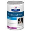 Hill's Prescription Diet 12x370 g Hill's Prescription Diet Canine d/d Allergy & Skin Care nedves kutyatáp - lazac