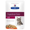 Hill's Prescription Diet 12x85g Hill's Prescription Diet i/d Digestive Care csirke macskatáp