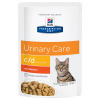 Hill's Prescription Diet 24x85g Hill's Prescription Diet c/d Multicare Urinary Care csirke macskatáp