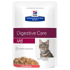 Hill's Prescription Diet 24x85g Hill's Prescription Diet Feline i/d lazac nedves macskatáp