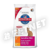 Hills SP Feline Adult Sensitive Skin Chicken 400g