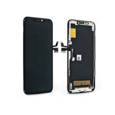 HiPix LCD kijelző érintőpanellel - Apple iPhone 11 Pro - HiPix OLED kiváló minőségű, utángyártott - fekete mobiltelefon kellék