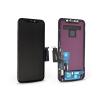 HiPix LCD kijelző érintőpanellel - Apple iPhone XR - HiPix kiváló minőségű, utángyártott - fekete