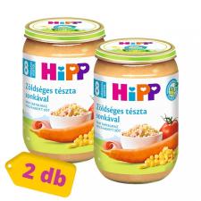 Hipp BIO zöldséges tészta sonkával, 8 hó+ (2x220 g) bébiétel