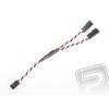 """Hitec 4703 J """"Y""""-kábel FUT sodrott erős rövid (15cm)"""