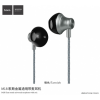 Hoco Gesi fülhallgató jack konektorral és mikrofonnal Apple készülékekhez - sötétszürke