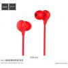 Hoco modern fülhallgató mikrofonnal Apple iPhone - piros