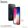 Hoco tok edzett üveggel a hátoldalom Apple iPhone X - fekete