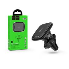 Hoco Univerzális szellőzőrácsba illeszthető mágneses PDA/GSM autós tartó - HOCO CA65 Super Magnetic Holder - fekete mobiltelefon kellék