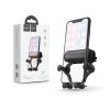 Hoco Univerzális szellőzőrácsba illeszthető PDA/GSM autós tartó - HOCO CA51 Air Outlet Gravity In-Car Holder - fekete