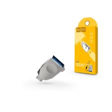 Hoco USB - micro USB OTG adapter - HOCO UA10 - USB 3.0 - ezüst mobiltelefon kellék