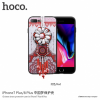 Hoco védőtok gyöngyökkel Apple iPhone 7 Plus / 8 Plus - piros
