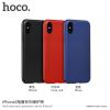 Hoco vékony műanyag tok Apple iPhone X - piros