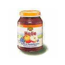 Holle Bio Bébiétel Alma-Feketeáfonya (190 g) bébiétel