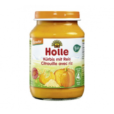 HOLLE BIO BÉBIÉTEL SÜTŐTÖK-RIZZSEL 190 G bébiétel