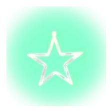Home by Somogyi Home LED-es ablakdísz, csillag (KID 411) karácsonyfa izzósor
