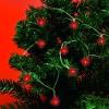 Home piros LED-s izzósor, 1,9m (MLC 20/RD)