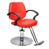 Hoppline Fodrász szék állítható magassággal - piros