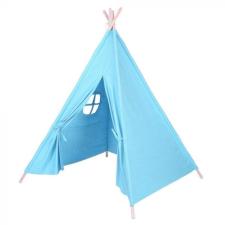 Hoppline Indián sátor gyerekeknek, kék kerti játszóház